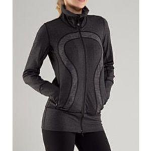LULULEMON In Stride Jacket Heathered Coal & Grey